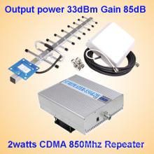2watts CDMA 850MHz ретранслятор сигнала мобильного телефона
