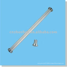 Accesorios de la cortina-Tapa de la cortina de hierro (tamaño grande) para el carril inferior redondo del accesorio del recubrimiento de la ventana-persiana del rodillo