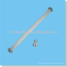 Cortina acessórios-tampa de extremidade de cortina de ferro (tamanho grande) para o trilho de fundo redondo do acessório de revestimento de cortina de janela de rolo