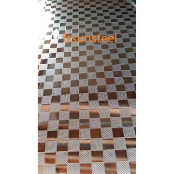 Embossed Decorative stainless steel