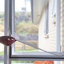 Adjustable DIY Magnetic Window Screen