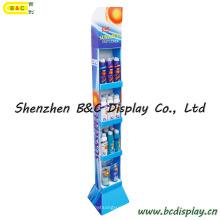 Soporte de exhibición de piso de tamaño pequeño, PDQ Display Box, estante de exhibición de papel (B & C-A071)