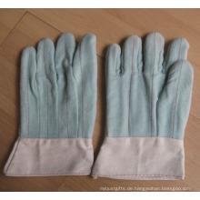 Hot Mill 100% Baumwolle Bandtop Manschette Handschuhe