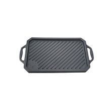 Cast iron griddle for gas grill