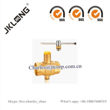 Brass Ball Valve with Lock forged valve