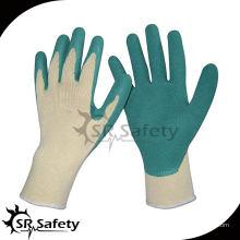 SRSAFETY 13-футовый латекс с латексным покрытием на ладонных перчатках