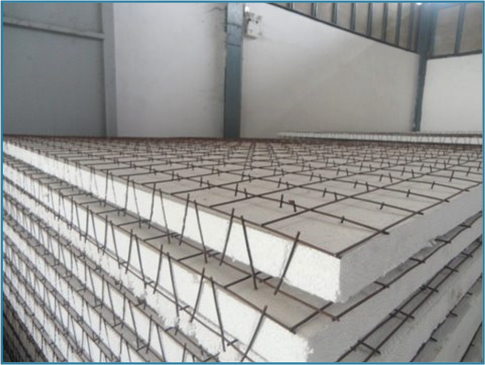 EPS 3D dilas wire mesh panel