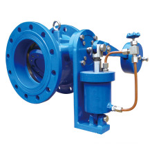 Double Flange Tilting Check Valve with Damper