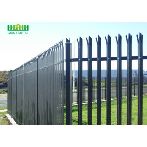 Steel Security Palisade Fence Mesh