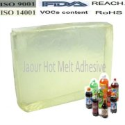 hot melt glue for label and other self-adhesion products with perfume