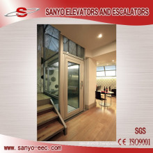 SANYO Glass Lift Small Elevators for Homes