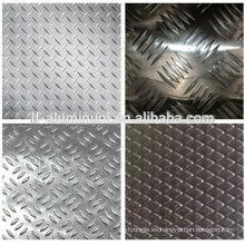 Chapa de chapa de aluminio estampada