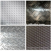 stamped aluminum tread sheet plate