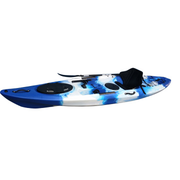 Foot Pedal Fishing Kayak with Rudder