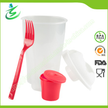 BPA-Free 3 in 1 Go Salad Cup with Custom Color