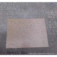 Colourful Plain Surface Rubber Flooring Tile, Size 500*500*4mm