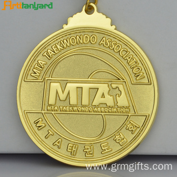 Kids Soccer Medals With Plating Color