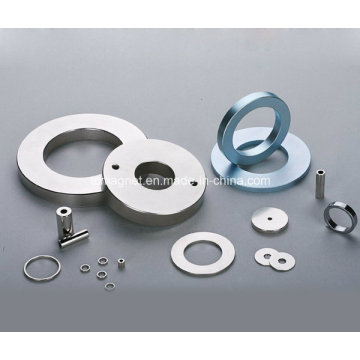 Speaker Magnets in Ring and Tube Shape