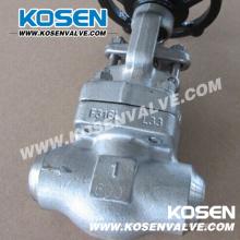 Válvulas de globo soldado a tope de acero forjado a tope (J61)