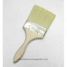 white color goat hair plat art brush