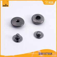 Kundenspezifischer Logo-Metallverschluss-Knopf für Kleidung BM10798