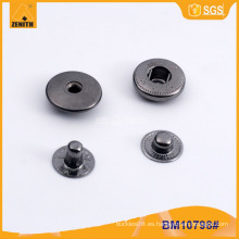 Botón de presión de metal de logotipo personalizado para la ropa BM10798