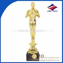 Troféu de metal 2017 troféus de prêmios Oscar personalizados