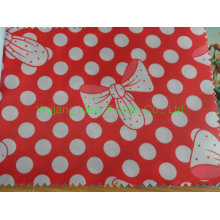Cheapest 210T Printed Polyester Taffeta Fabric with PVC Coat
