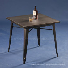 Vente en gros Vintage Square Cafe Metal Tolix Table (SP-CT672)