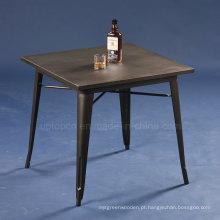 Atacado Vintage Square Cafe Metal Tolix Table (SP-CT672)