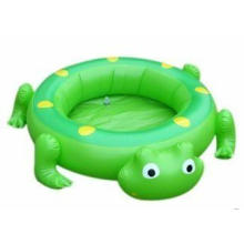Green Frog Pvc Inflatable Water Toys Boat For Kids Sporting