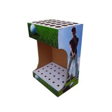 diseñador de exhibidores de papel expositor de gancho de cartón