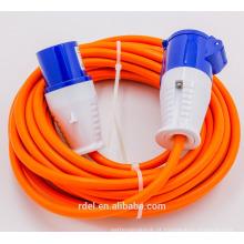 RD-09 cabo de extensão 110 V 16A, CEE IP44 à prova d 'água plug & soquete