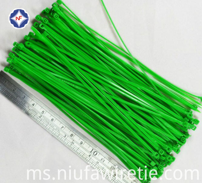 Green Cable Tie