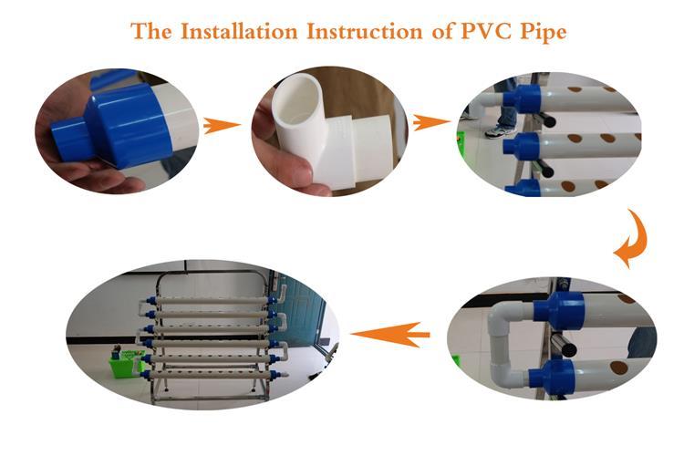 pvc installation