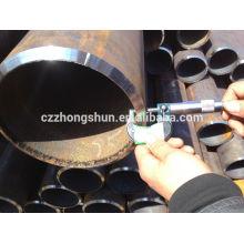 Tubo de acero sin costura ASTM A106 / ASTM A53 Gr B / SS400 / SS490