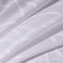 Tejido 100% algodón de la alta calidad de la armadura de Dobby para la hoja de cama del hotel (FSM-2016004)