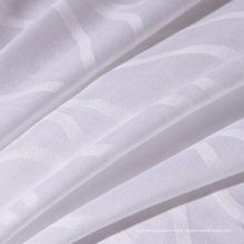 Tissu de tissage Dobby 100% coton de haute qualité pour feuille de lit d'hôtel (WSF-2016004)