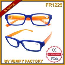 R-1127 nouvelles lunettes de lecture Trendy Fashion Slim Chic avec cadre de flanelle