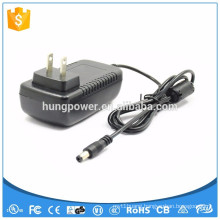 15 volt 2amp Power Supply adapter Wall mounted ac dc 30W Class 2 E485339 UL listed Level VI 6