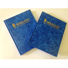 A4 Baladic Cover Hardcover Notebook Diary for Promotion Gift