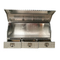 Aluminum tool box for UTE and Camper trailers Aluminum check plate truck tool box with drawers