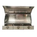 Алюминиевый металлический ящик для инструментов для грузовиков с ящиками Алюминиевый металлический ящик для инструментов для грузовиков с ящиками