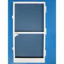 China supplier OEM for Frame Insect Screen Door,Frame Bottom Hinged Windows,Aluminium Frame Casement Windows Manufacturer in China DIY fix screen door aluminum screen door export to Ethiopia Exporter