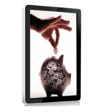55inch an der Wand befestigter Noten-LCD-Bildschirm