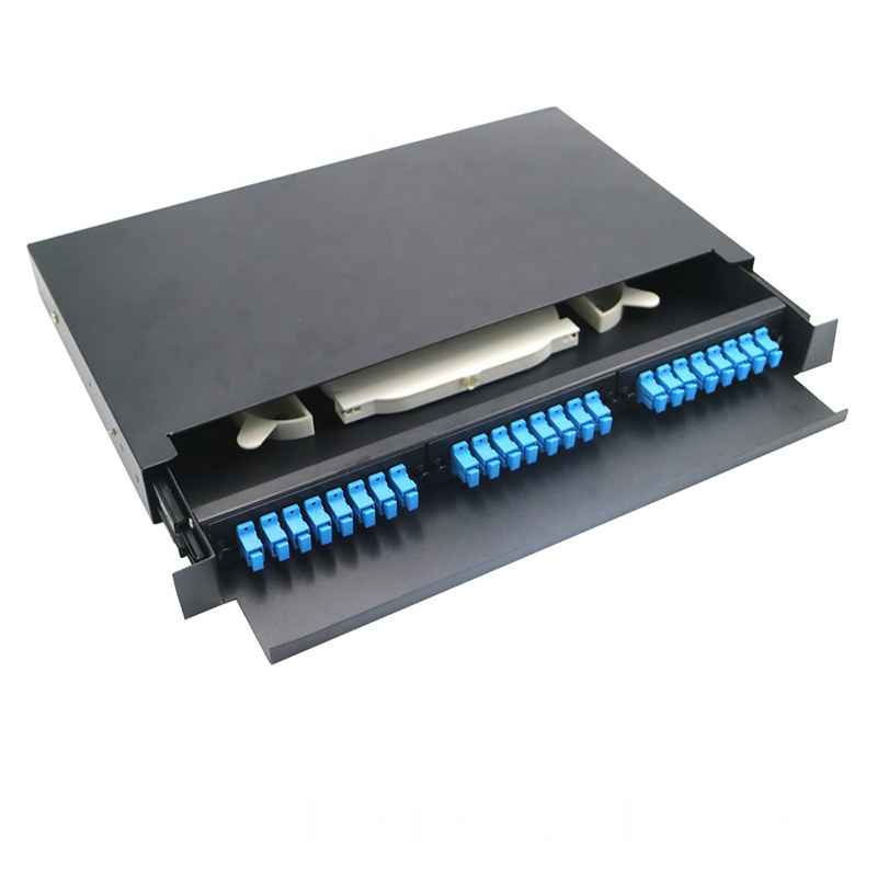 Optical Fiber Rack Mount Sliding Type 24