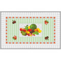 Diseño independiente LFGB Oko-Tex 100 Transparent Tablecloth 80 * 130cm