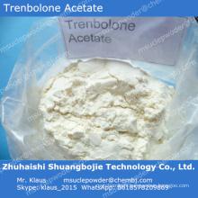 Acétate supérieur de Trenbolone de poudre stéroïde pour obtenir le muscle puissant