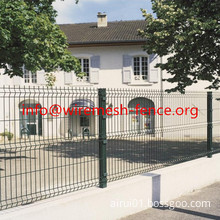 low Price And High Quality Triangle Bending Fence/Curved Fence Panels(Factory)ISO9001