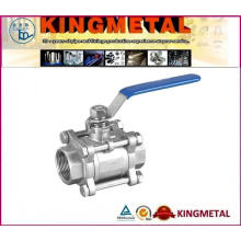 3PC Ball Valve, NPT Threaded